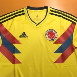 Colombia 2018 FIFA World Cup Home Jersey